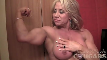 Sex Toys Muscular Women Vibrator Big Tits