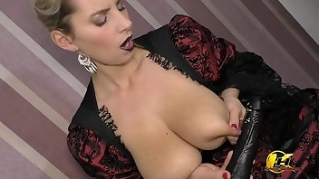Lactating Dildo Boobs European