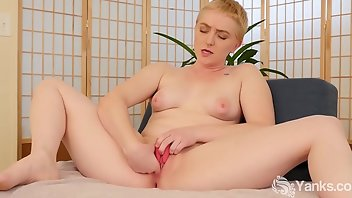 Puffy Nipples Blonde Amateur Vibrator