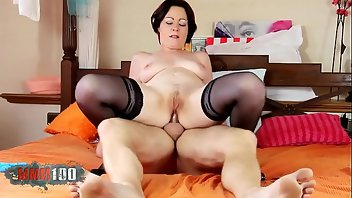 Casting Anal Stockings MILF