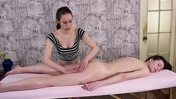 Lesbian Seduction Massage