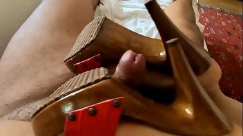 Shoejob MILF Footjob Mistress