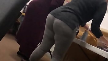 Puerto Rican MILF Big Ass Voyeur