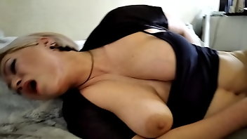 Big Nipples Blonde MILF Mature