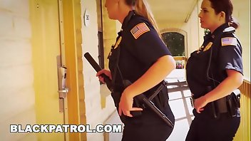 Police Hardcore Blonde Interracial MILF
