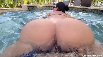 Bikini Teen Latina Outdoor