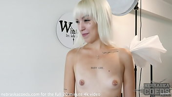 Estonia Blonde Small Tits Behind The Scenes