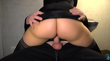 Clothed Pussy Black Cowgirl