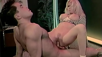 Retro Blonde Blowjob Fingering